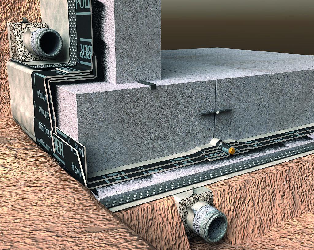 Placa de cimentación con nivel freático - P_6