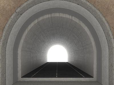 Túnel interior
